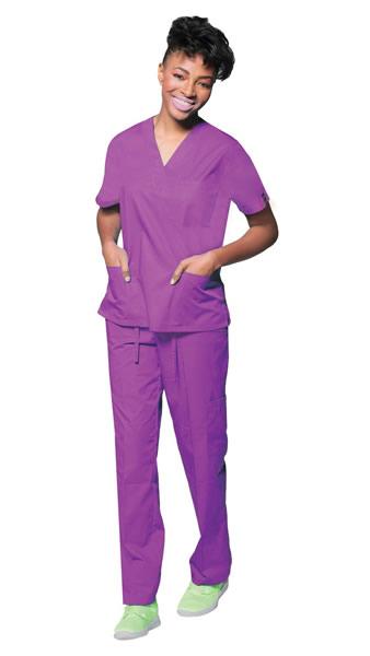Women's Classic 7 Pocket Basic Uniform Scrubs